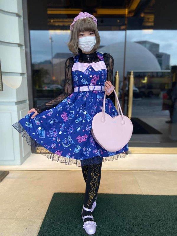 倖田兔子の「Lolita」をテーマにしたコーディネート(2020/06/12)