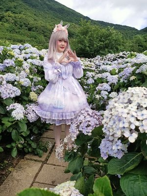 Kalilo Cat's 「Lolita fashion」themed photo (2020/06/18)