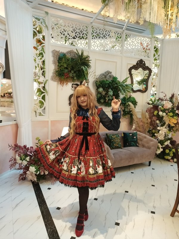 Kalilo Cat's 「Lolita」themed photo (2020/06/20)