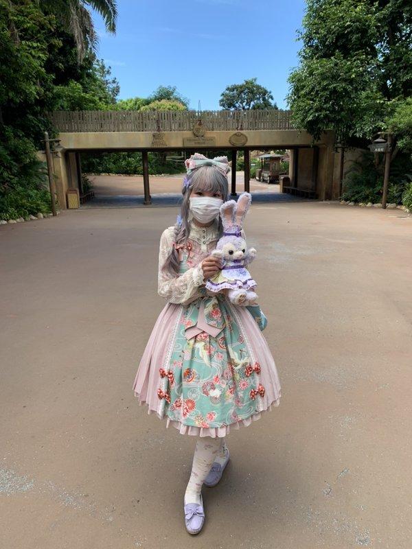 倖田兔子の「Lolita」をテーマにしたコーディネート(2020/06/22)