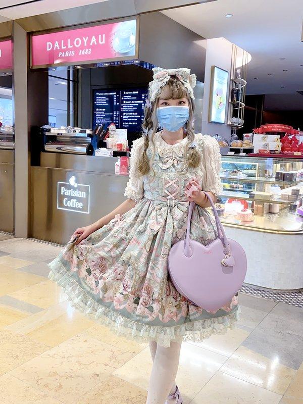 倖田兔子の「Lolita」をテーマにしたコーディネート(2020/06/28)
