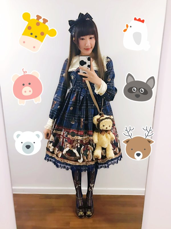 千芷萤の「Lolita」をテーマにしたコーディネート(2017/06/09)