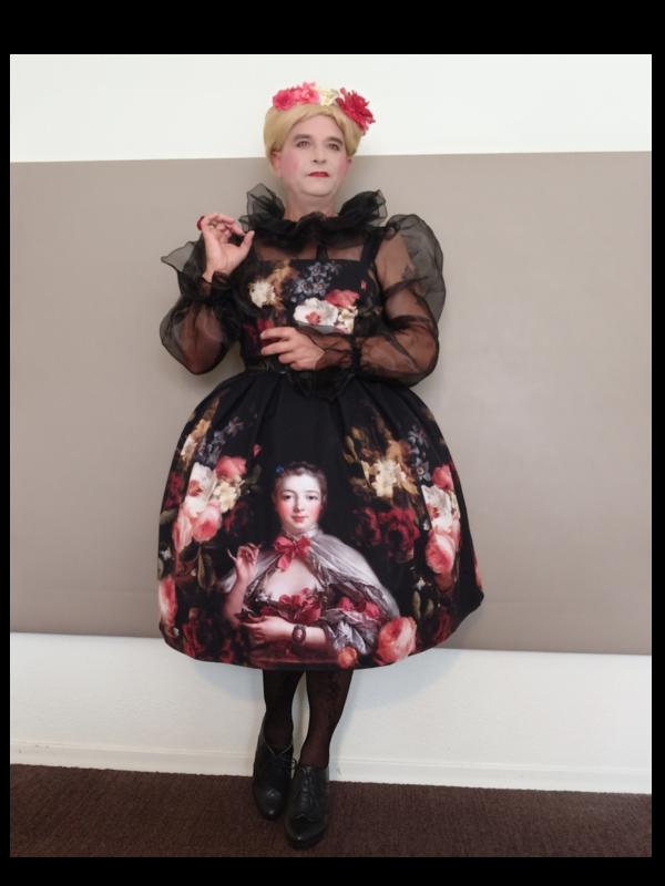 Anaïsse's 「Lolita fashion」themed photo (2020/10/27)