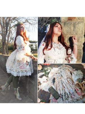 MoriMademoiselle's 「Lolita fashion」themed photo (2020/12/06)