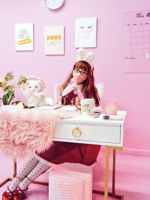 Mei Meiの「Angelic pretty」をテーマにしたコーディネート(2021/02/18)