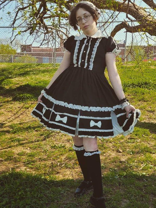 Jewelnessの「Classic Lolita」をテーマにしたコーディネート(2021/04/27)
