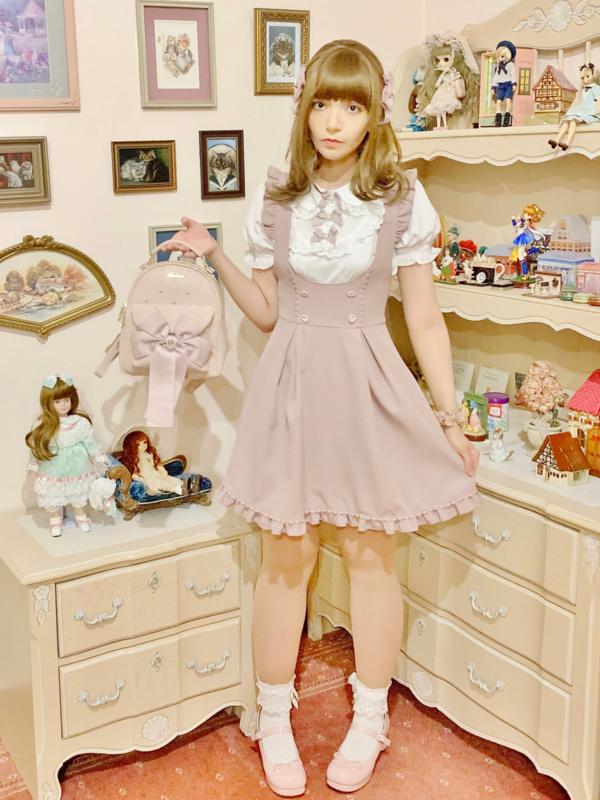 Charlotteの「girly fashion」をテーマにしたコーディネート(2021/08/21)