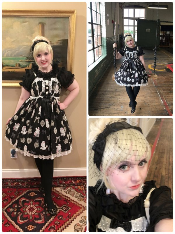 Lulu Couture の「Angelic pretty」をテーマにしたコーディネート(2017/06/13)