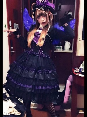 Big_Lululu陆大壮's 「GothicLolita」themed photo (2017/06/16)