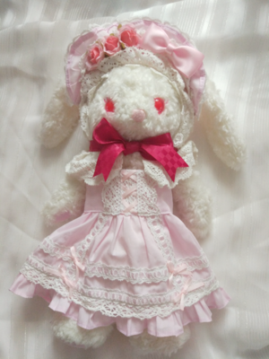 布子の「兔熊」をテーマにしたコーディネート(2017/06/17)