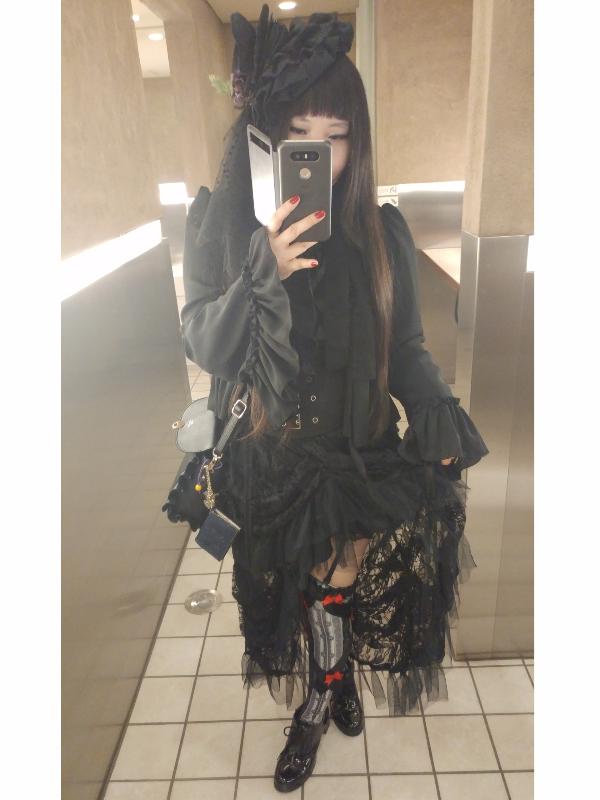 蝶華の「Gothic」をテーマにしたコーディネート(2017/06/19)