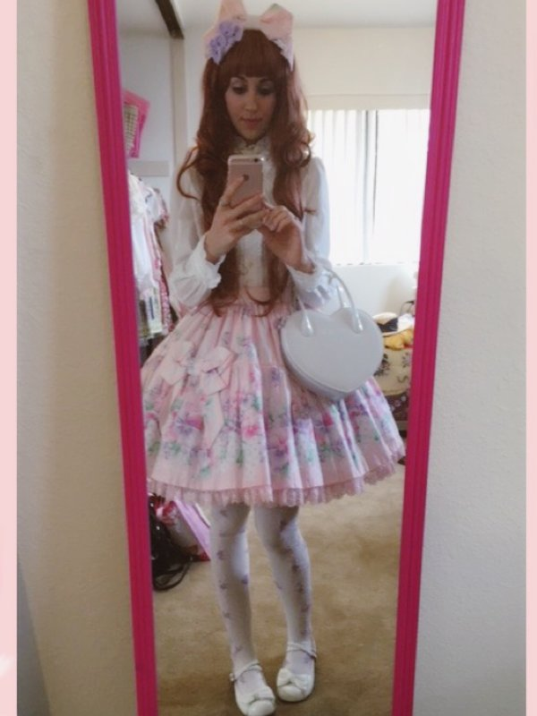 Rikki Rachel's 「Angelic pretty」themed photo (2016/07/15)