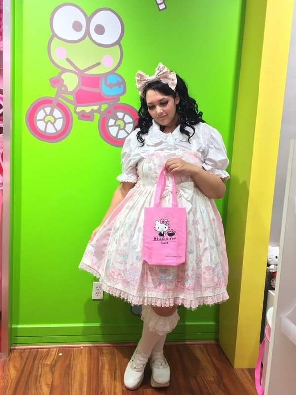 Momona's 「Angelic pretty」themed photo (2016/07/17)