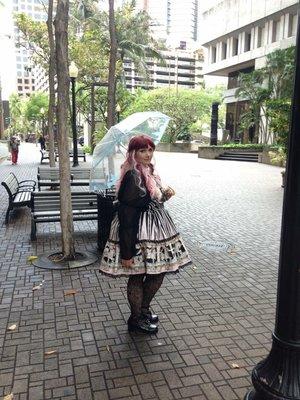 是Momona以「Angelic pretty」为主题投稿的照片(2016/07/17)