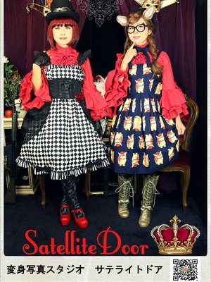 Satellite Door's 「姫袖」themed photo (2017/06/29)