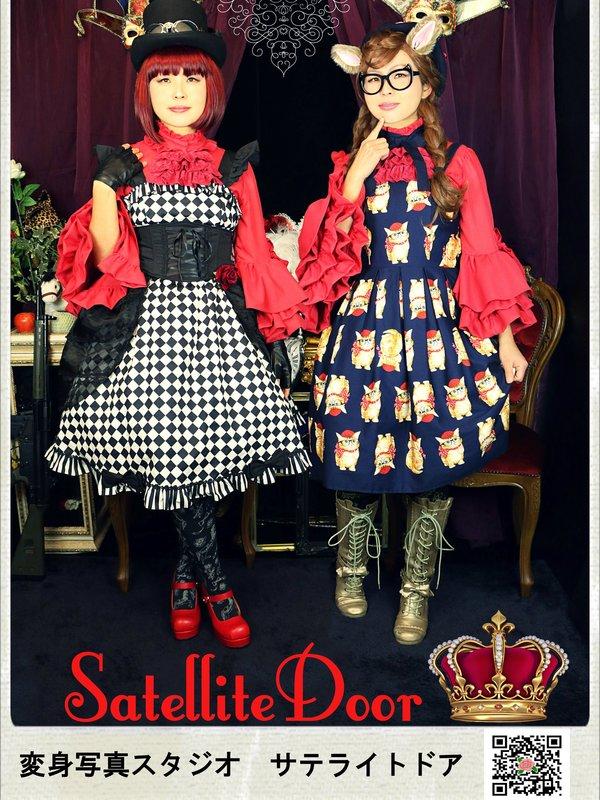Satellite Doorの「姫袖」をテーマにしたコーディネート(2017/06/29)