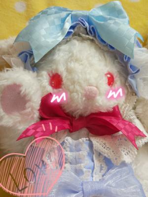 布子の「兔熊」をテーマにしたコーディネート(2017/07/01)