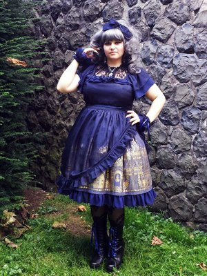 EvilQueen's 「Gothic Lolita」themed photo (2017/07/01)