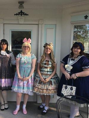 Annie の「Sweet cream house」をテーマにしたファッションです。(2017/07/04)