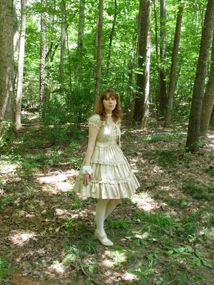 Stef in the Forest's 「Bodyline」themed photo (2017/07/05)
