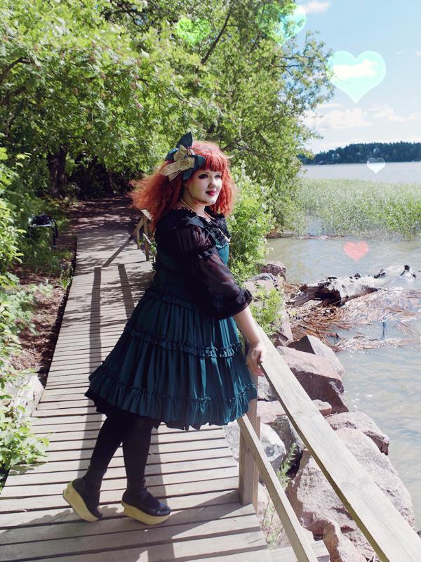 Helena Perkkiöの「Innocent World」をテーマにしたコーディネート(2017/07/09)