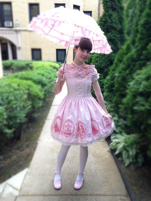 Alice's 「Angelic pretty」themed photo (2017/07/13)