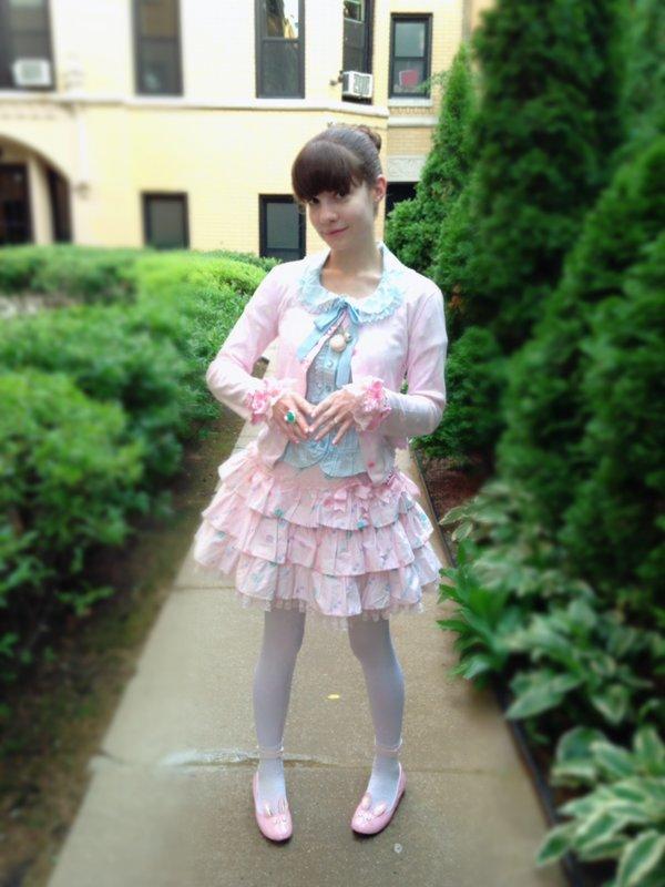 是Alice以「Angelic pretty」为主题投稿的照片(2017/07/13)