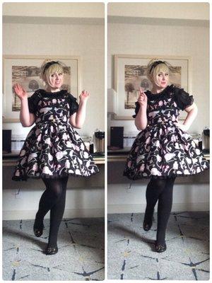 Lulu Couture の「Angelic pretty」をテーマにしたコーディネート(2017/07/17)