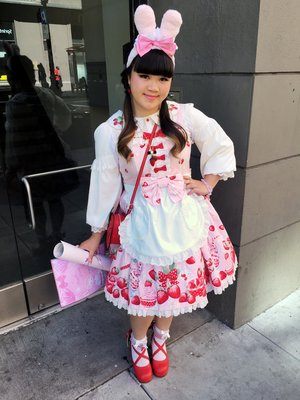 是Austine以「Angelic pretty」为主题投稿的照片(2017/07/17)