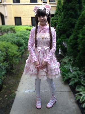 Alice's 「Angelic pretty」themed photo (2017/07/18)