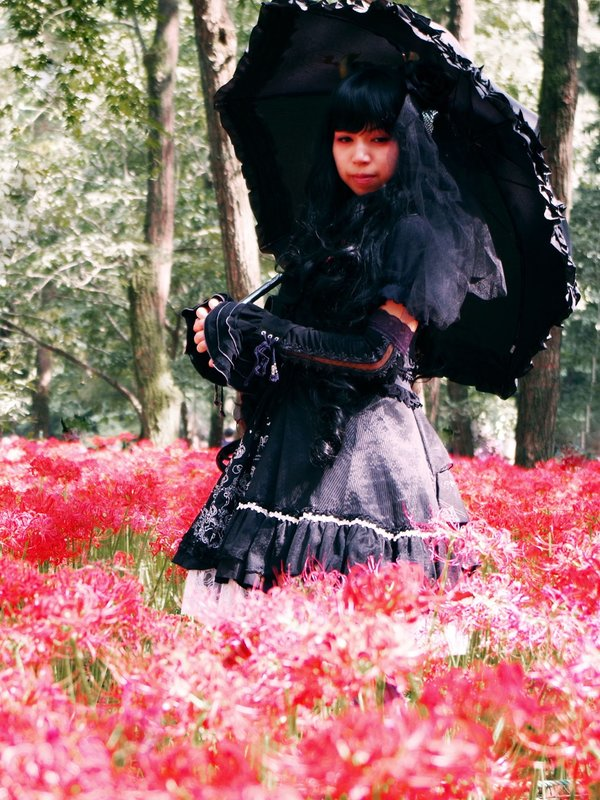 yukariの「巾着田」をテーマにしたコーディネート(2016/06/21)