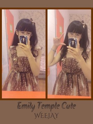 WeeJay_V_みく♡'s 「Emily temple cute」themed photo (2017/07/25)