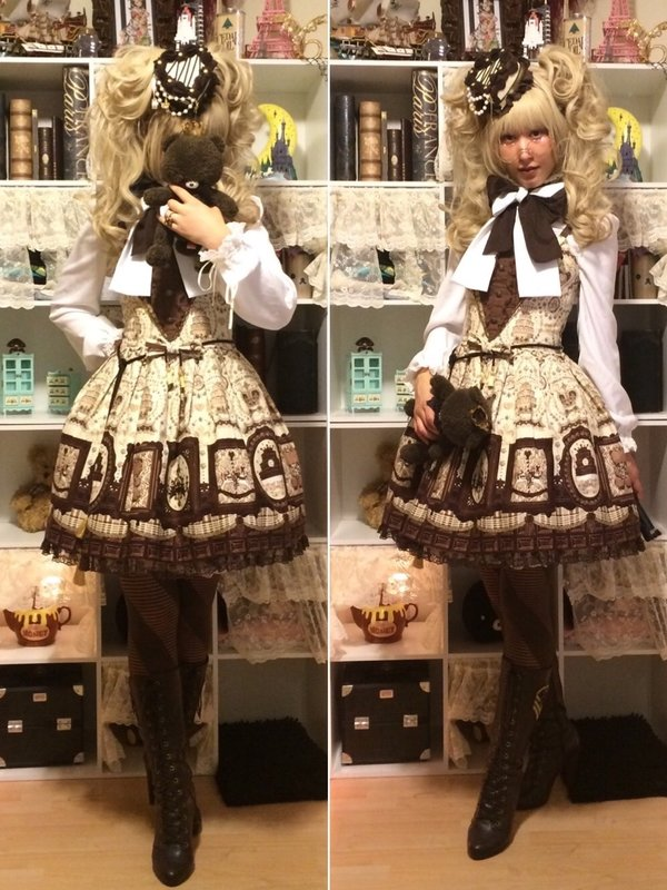 是Hieronymus Bear以「Angelic pretty」为主题投稿的照片(2016/07/19)