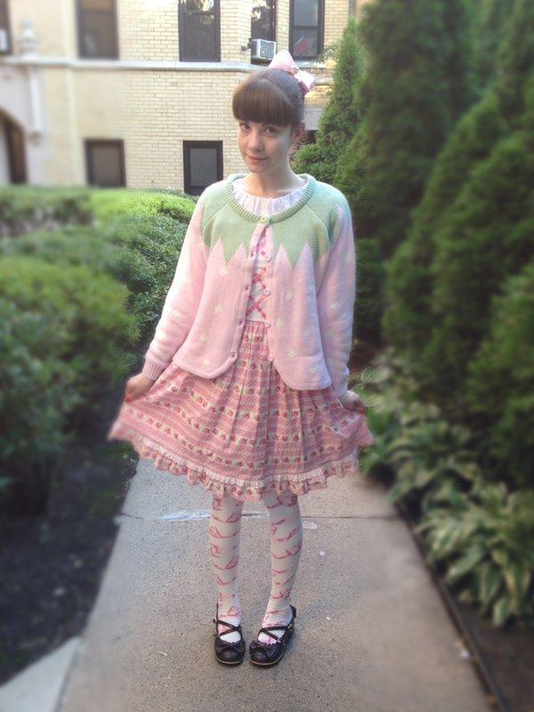 Alice's 「Angelic pretty」themed photo (2017/07/30)