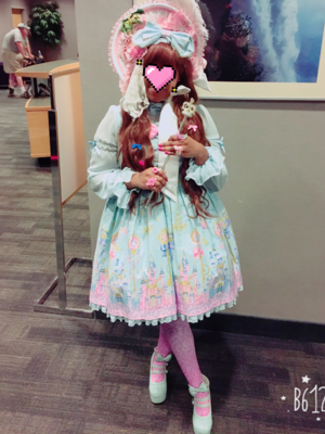 Marina 's 「Angelic pretty」themed photo (2017/08/01)