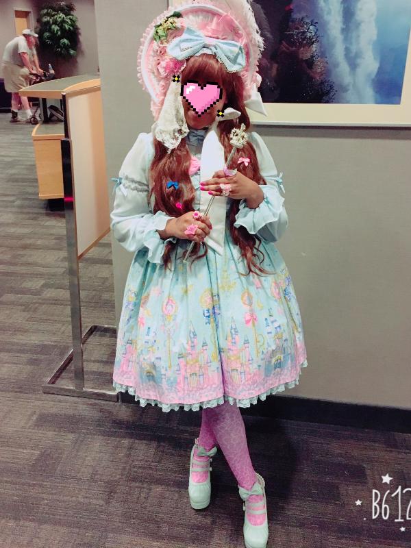 Marina 's 「Angelic pretty」themed photo (2017/08/01)