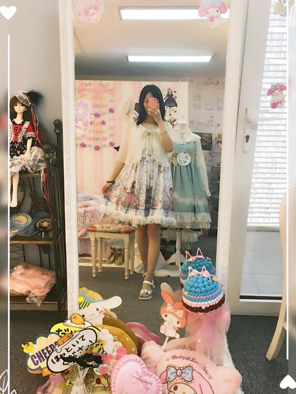 Shiroyaの「薇光花园」をテーマにしたコーディネート(2017/08/02)