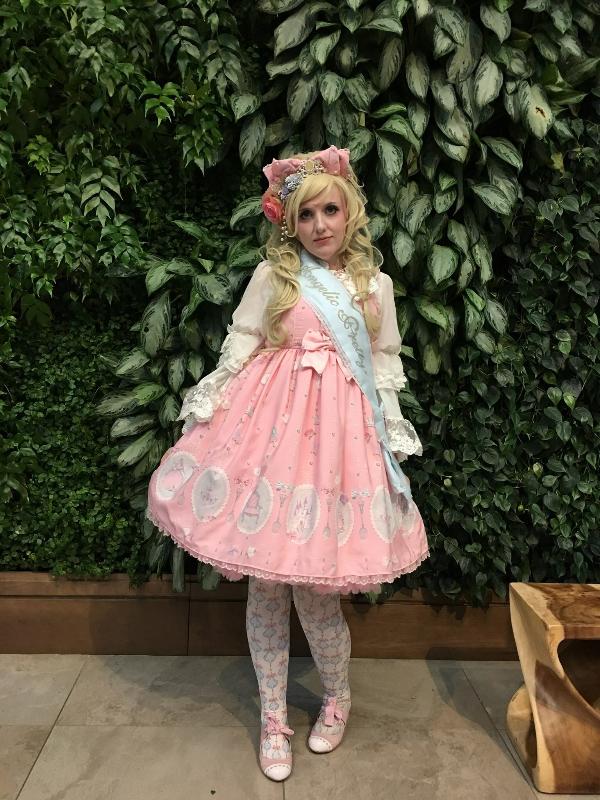 是Lulu以「Angelic pretty」为主题投稿的照片(2017/08/03)