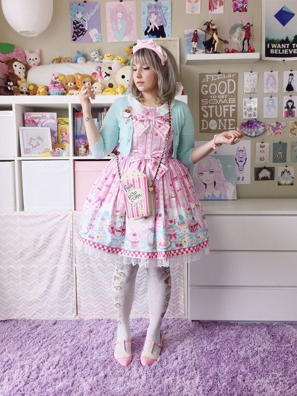是bububun以「Angelic pretty」为主题投稿的照片(2016/07/20)