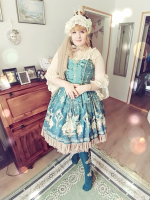 Helena Perkkiö's 「Classical Lolita」themed photo (2017/08/07)