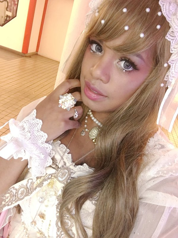 Skullita's 「Angelic pretty」themed photo (2016/07/20)