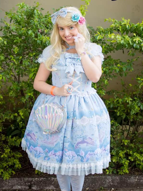 Sabrina Fonseca's 「Angelic pretty」themed photo (2017/08/09)