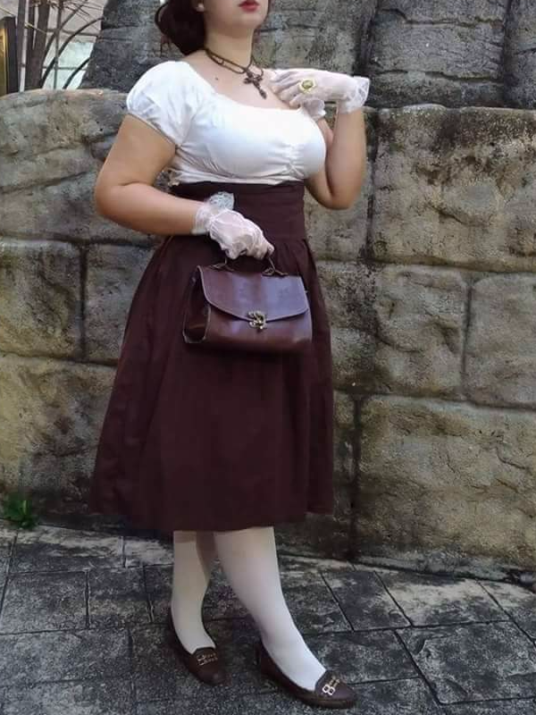 Nanna Azevedo's 「Classical Lolita」themed photo (2017/08/10)