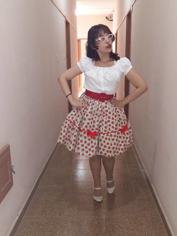 是Anna以「Casual Lolita」为主题投稿的照片(2017/08/10)