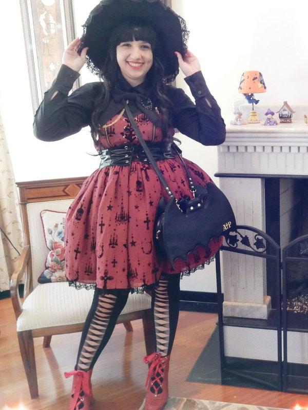Gabriela Mionの「Witch Lolita」をテーマにしたコーディネート(2017/08/10)