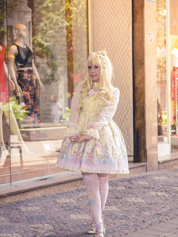 Princess Vの「Angelic pretty」をテーマにしたコーディネート(2017/08/10)