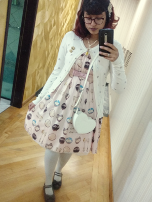 Mari's 「Sweet lolita」themed photo (2017/08/11)