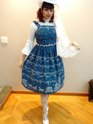 Mariの「Classical Lolita」をテーマにしたコーディネート(2017/08/11)