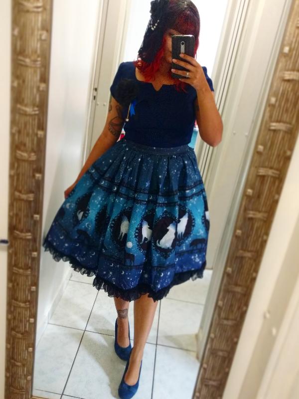 Mari's 「Classical Lolita」themed photo (2017/08/11)