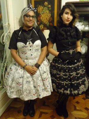 Niki Oosakiの「Punk Lolita」をテーマにしたコーディネート(2017/08/11)